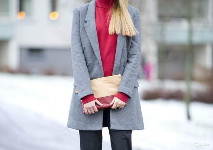 Серое пальто: 15 нескучных образов!