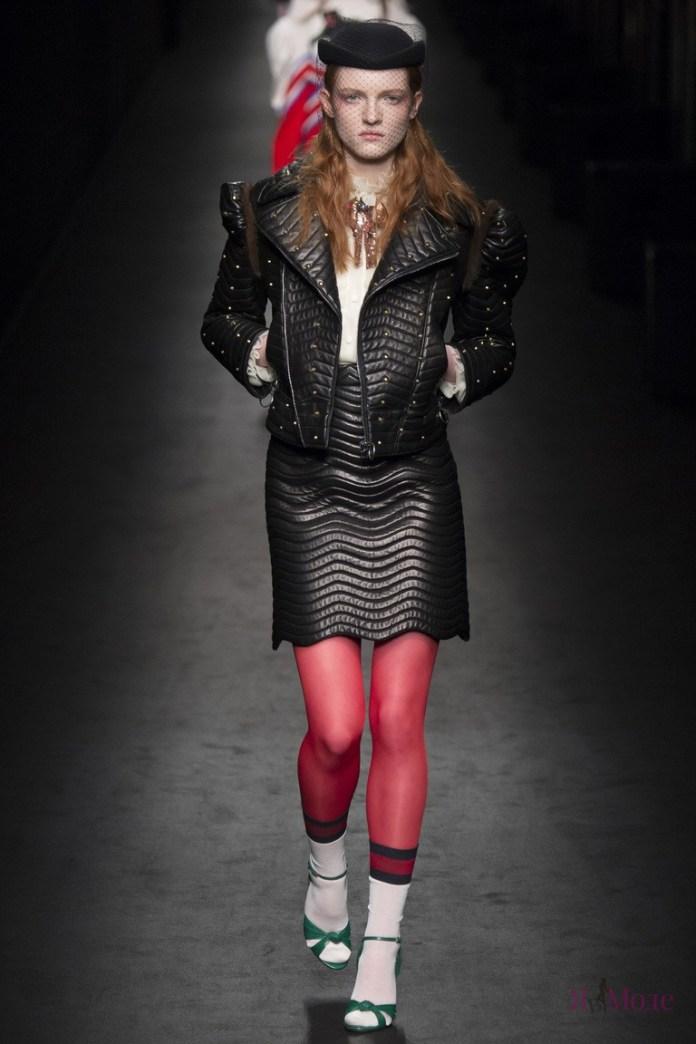 Ретро-коллекция Gucci на неделе моды в Милане