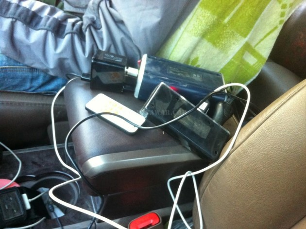 Charging the gadgets