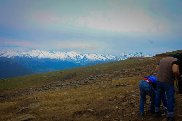 Detecting the puncture.. err. the views are more beautiful! :)
