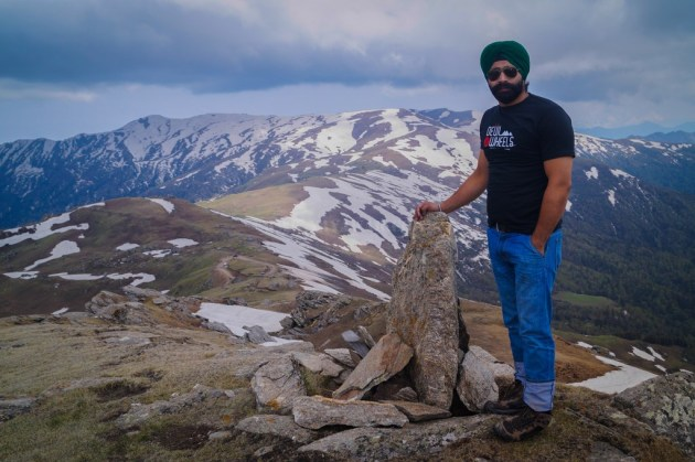 At Chanshal Peak
