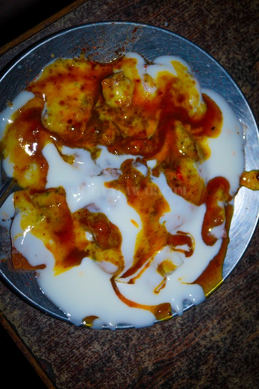 Delicious, yummy chaat