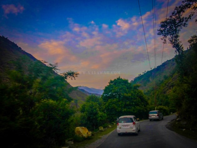 Somewhere between Bhuntar and Kasol