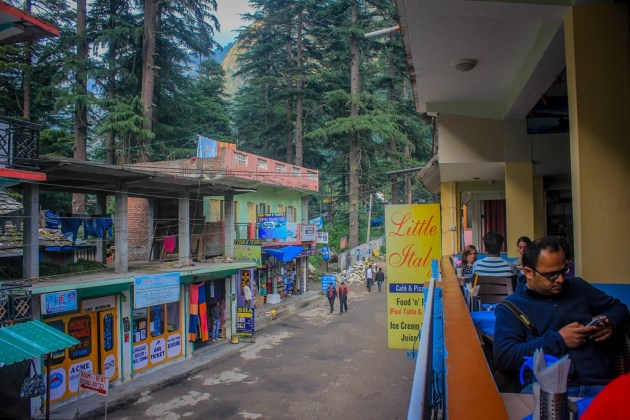 Little Italy restaurant, Kasol