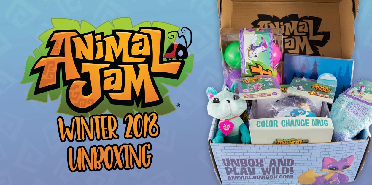 The Animal Jam Winter Box is Overflowing with Cuteness   YAYOMG  Animal Jam Winter Unboxing