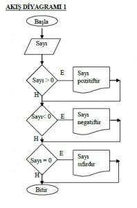 Algoritma Örnekleri -Akış Şeması Örnekleri -2