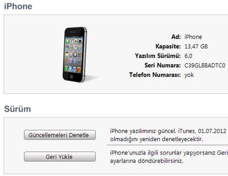 iphonekurulum