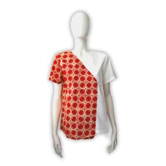 blouse batik kawung