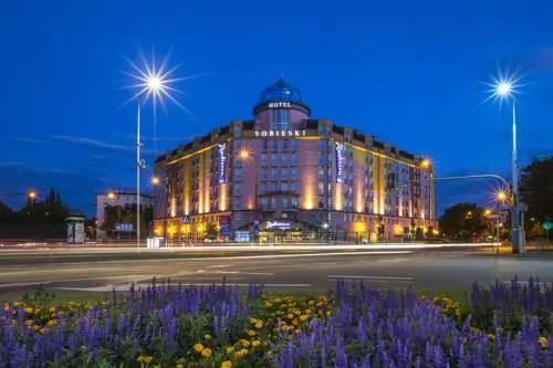 Best hotel in Warsaw free award night Radisson Blu Sobieski Warsaw