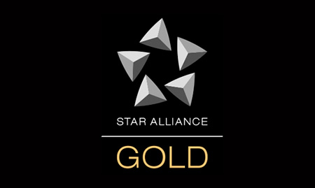 StarAlliance GOLD status