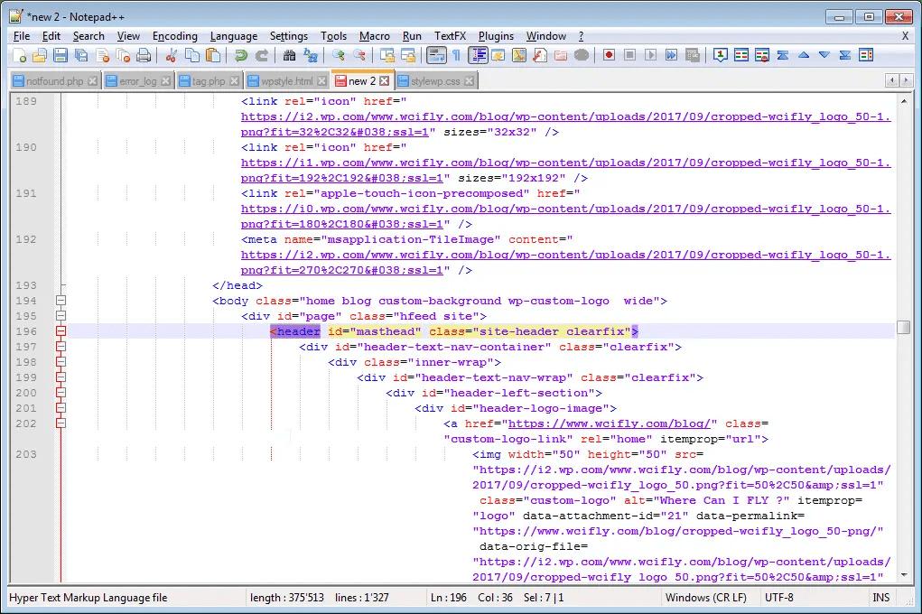 XML formatter Notepad++ XML plugin indent html : XML pretty print result in Notepad++