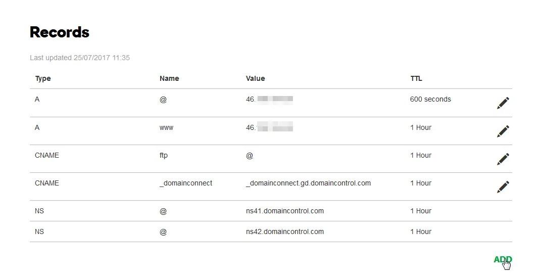 GoDaddy domain forwarding redirect domain to website
