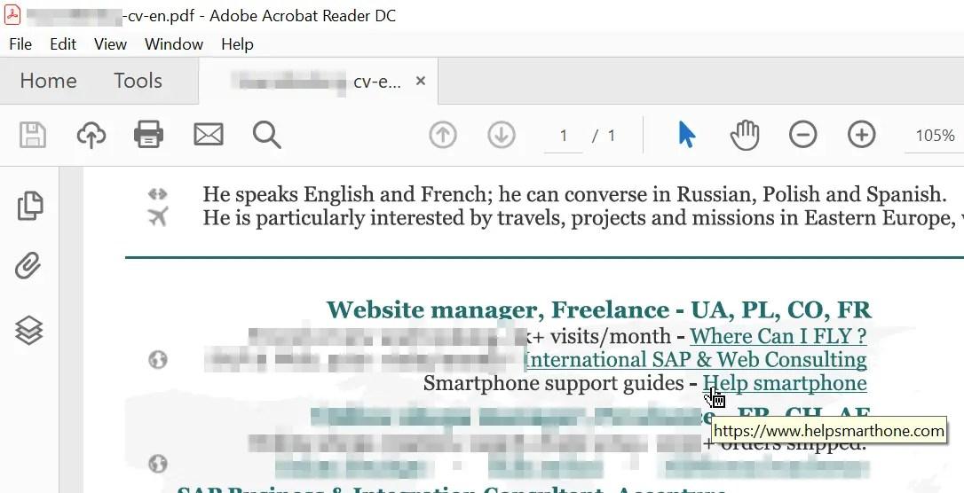 Scribus tutorial add hyperlink to PDF