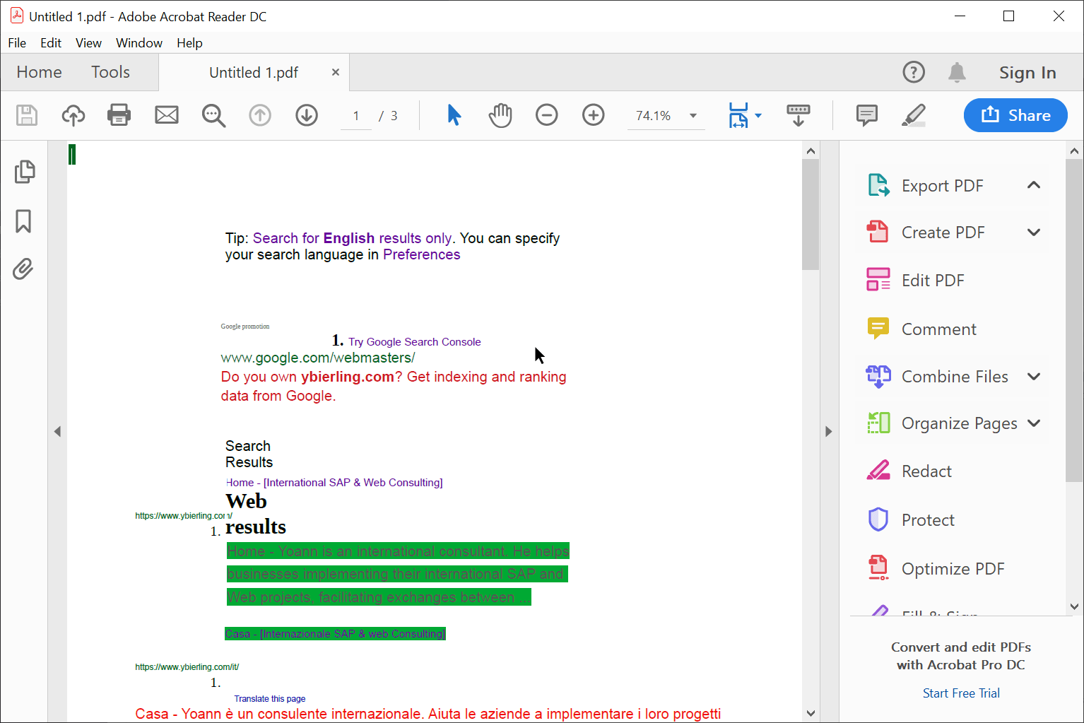 LibreOffice get colors back in PDF exports