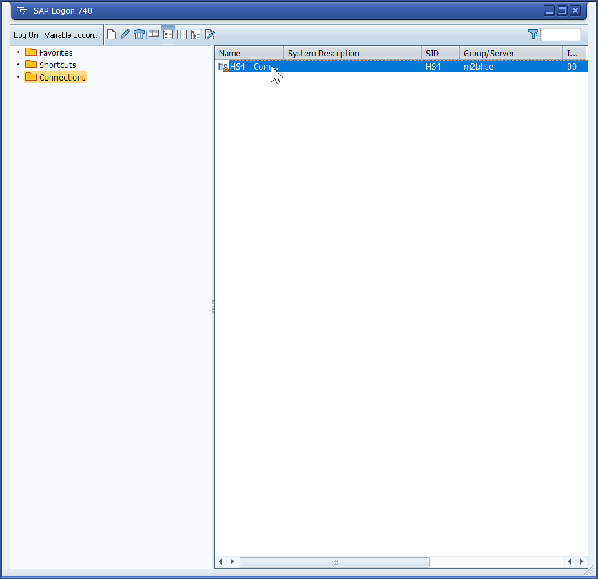 Add server in SAP GUI 740 in 3 easy steps
