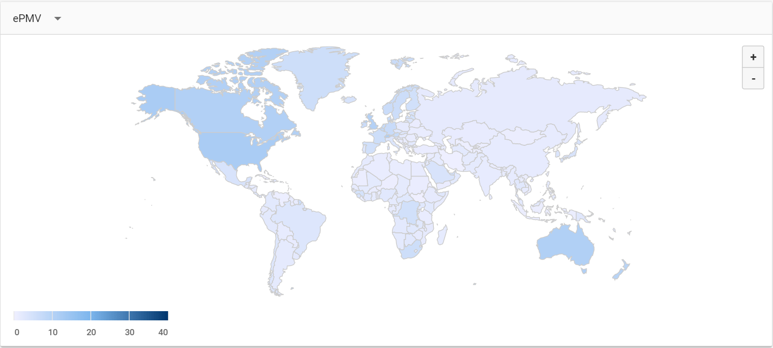 What are the highest CPM rates by country? Ezoic vs AdSense