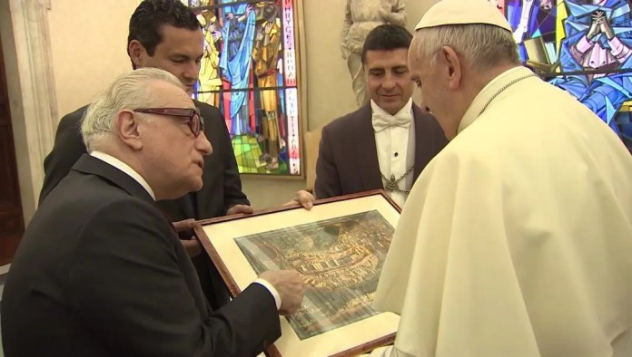 Pope Francis Meets Director of SILENCE