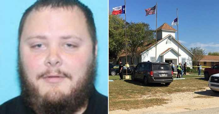 Texas church gunman Devin Kelley photographed.