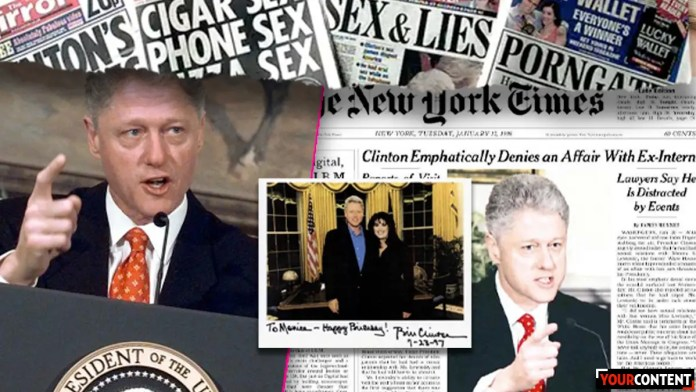 Bill Clinton reminds Americans that he lied about sex affair in 1998 on new Hulu docu » Your Content