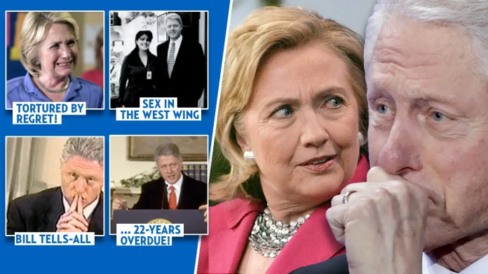 Hillary Clinton forces Bill to confess to Lewinsky affair on television debut tonight » Your Content