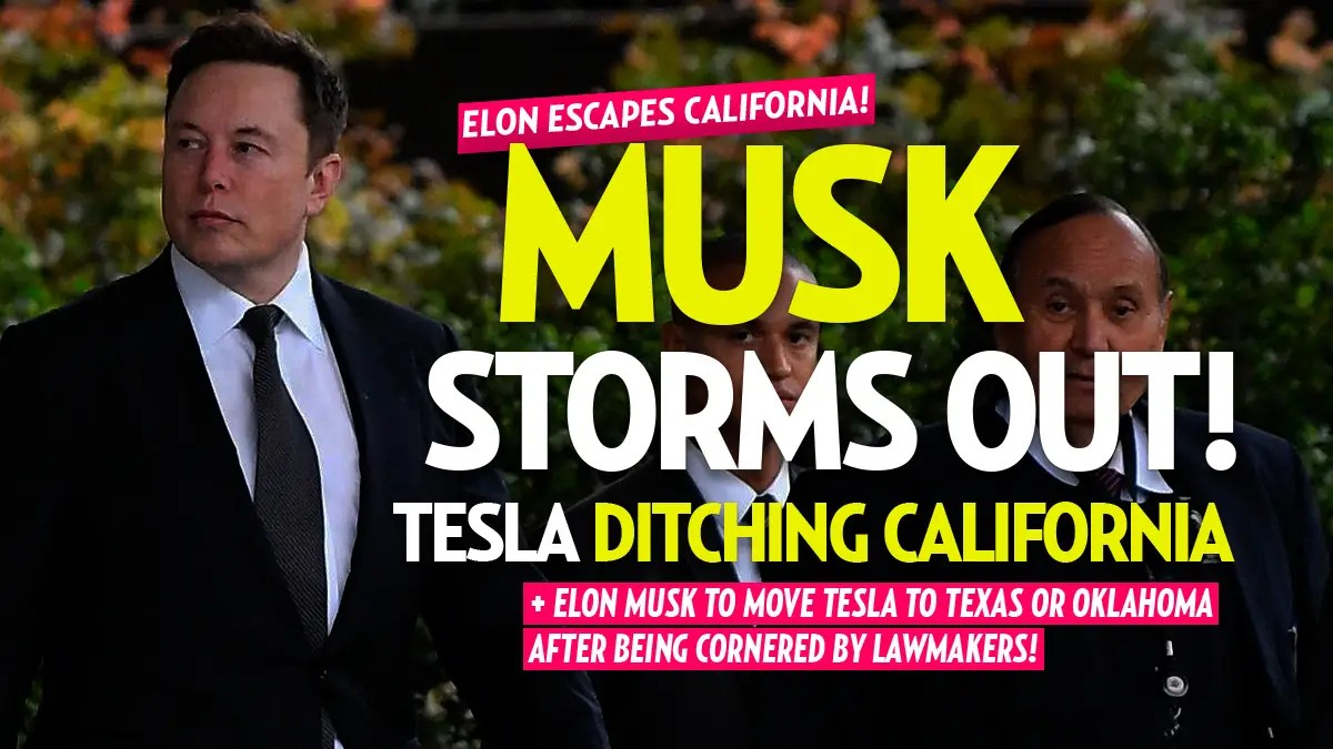 Tesla to Move to California Facility to Texas or Oklahoma: Elon Musk