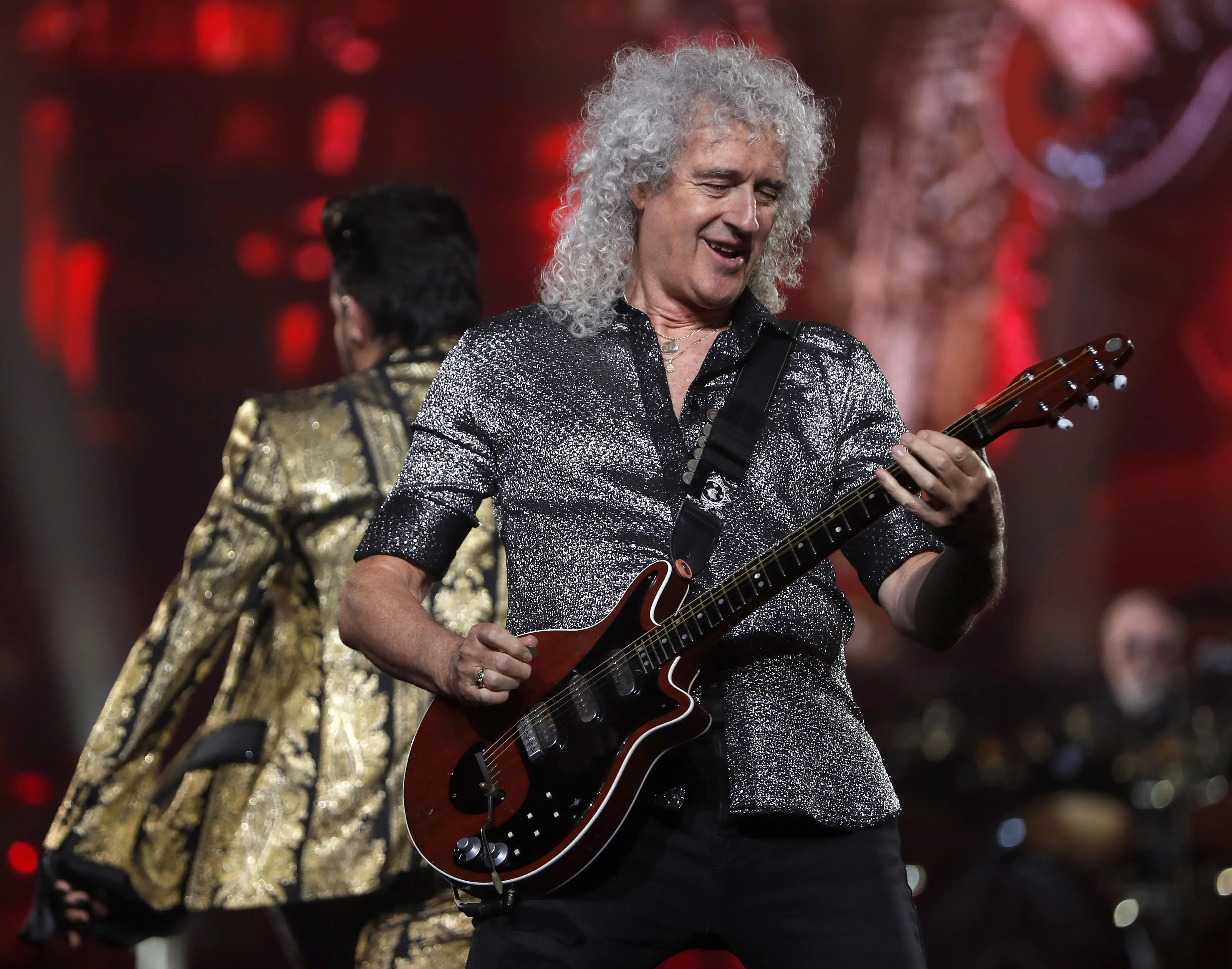Brian May reveals he had a heart attack