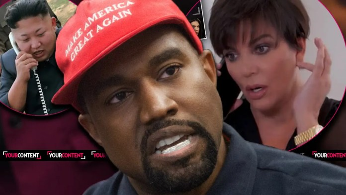 Kanye West Instructed to Publicly Beg Kim for Her Forgiveness After Calling Her Mom Kris Jong-Un