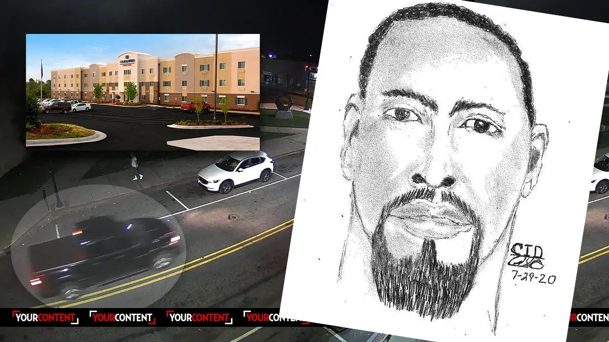 Man Sought for HOTEL HOMICIDE in Delco, Police Release Composite and Surveillance Photo