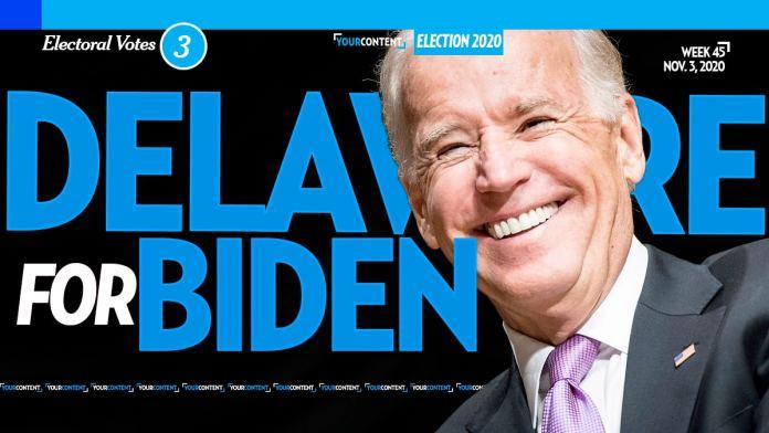 Joe Biden Wins Delaware