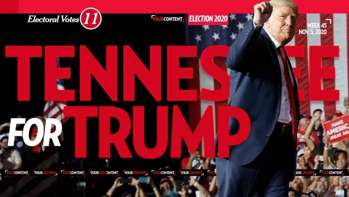President Donald Trump Wins Tennessee