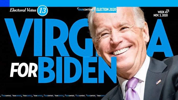 Joe Biden Wins Virginia