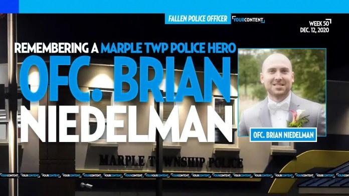 Funeral Arrangements Set for Decorated Marple Police Officer Brian Niedelman