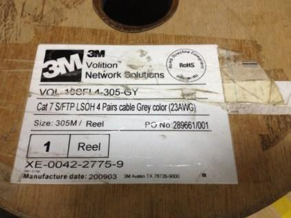有線網路, 纜線, 3M-CAT.7-SFTP標籤
