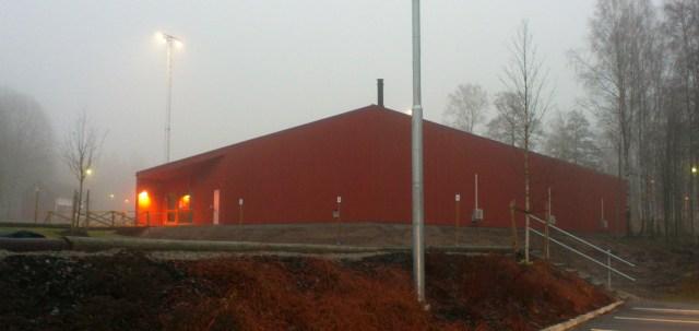Lördagen den 16 november 2013 stod boulehallen klar för invigning.