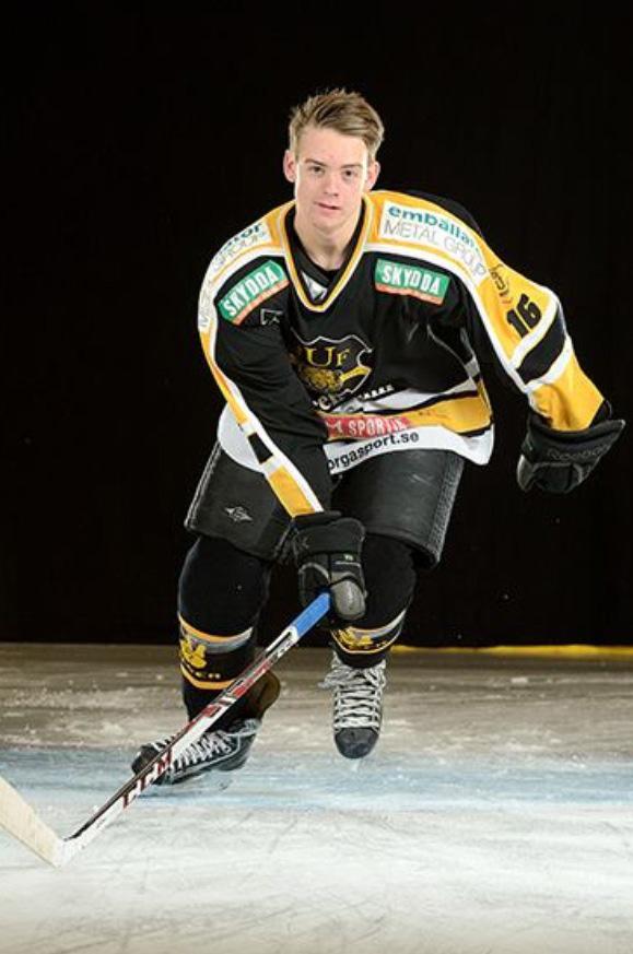 William Persson i action den gångna vintern.
