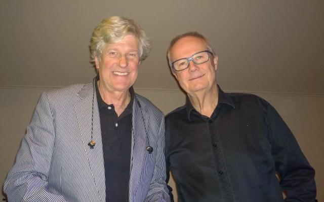 Thore Olofsson och Jerry Rudenwall stod för underhållningen.