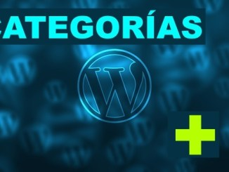como crear categorias wordpress