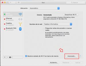 saber la IP en Mac