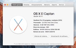 como saber modelo macbook pro