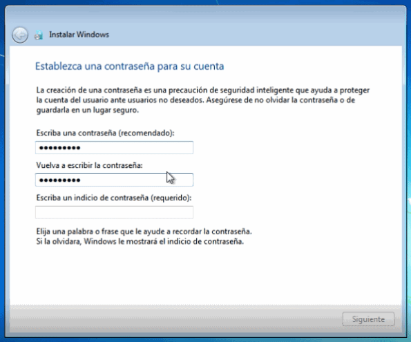 instalar windows 7 de cero
