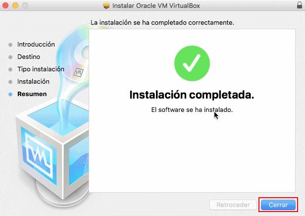 virtual box para macbook