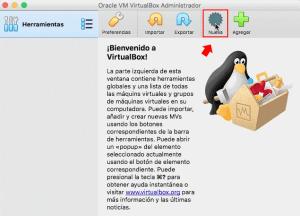 virtual box en macbook