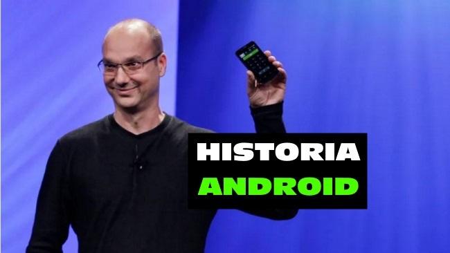 la historia y evolucion de android