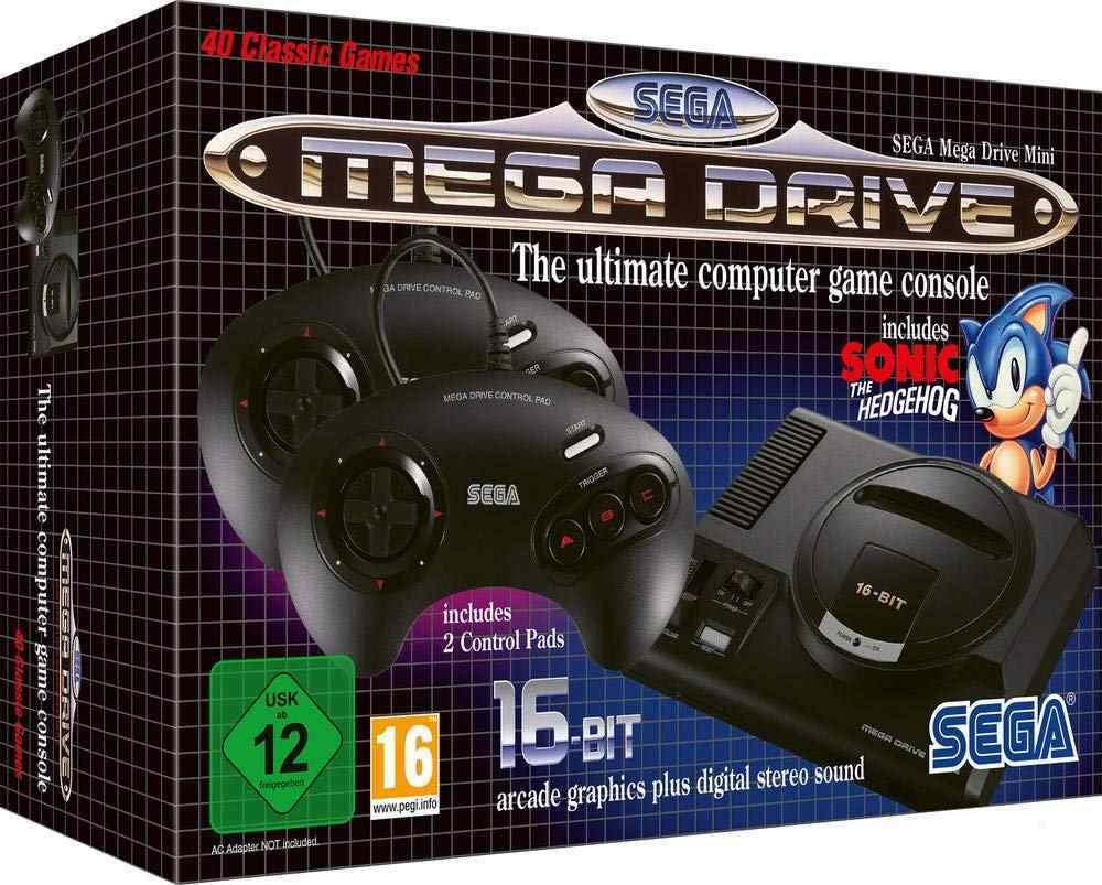 mega drive clasic mini 2019 español