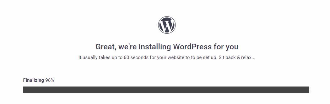 instalacion wordpress gratis webhost