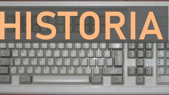 historia del teclado