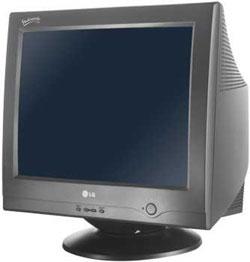 la historia del monitor de ordenador