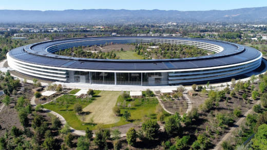la historia de silicon valley apple park