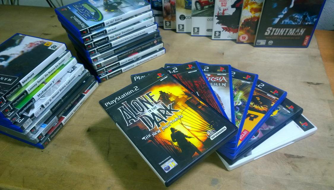 coleccion de juegos ps2 yeabit informatica