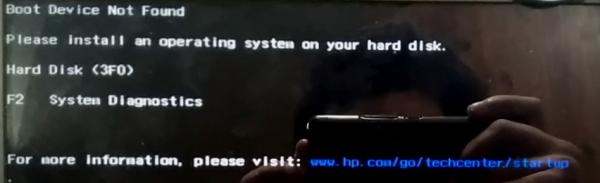 hard disk 3f0 como resolver